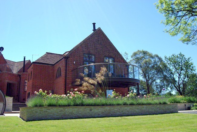 School House rear garden, design by Lush Garden Design