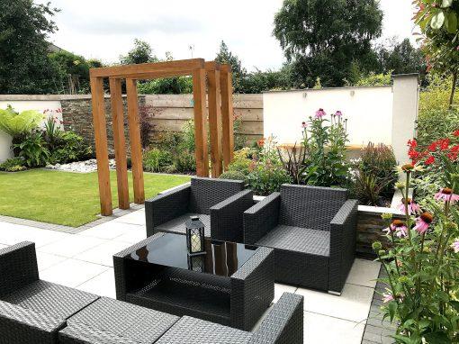 A Modern New Build Garden
