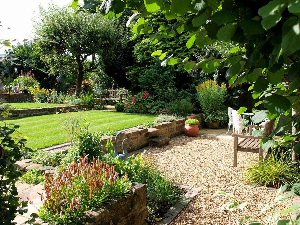 Lush Garden Design Updating a Mature Garden