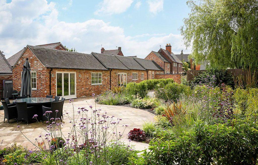 Herbaceous planting scheme by Lush Garden Design