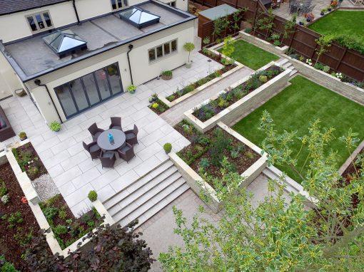 Modern Country Style Garden