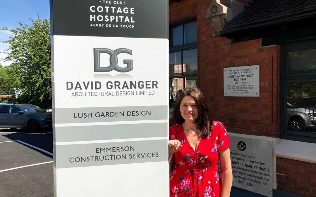 Lush Garden Design Moves to the Old Cottage Hospital, Ashby