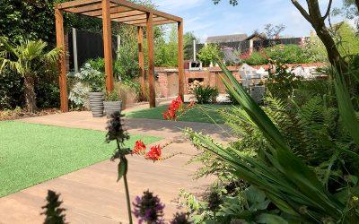 Small Garden for Entertaining in Ashby
