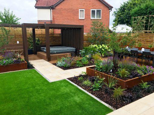 Screening an Overlooked Garden