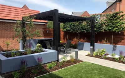 Adding Privacy to a David Wilson Homes Garden