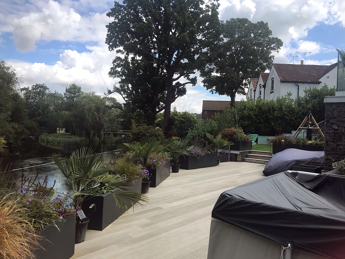 Child-friendly garden in Derby designed by Lush Garden Design