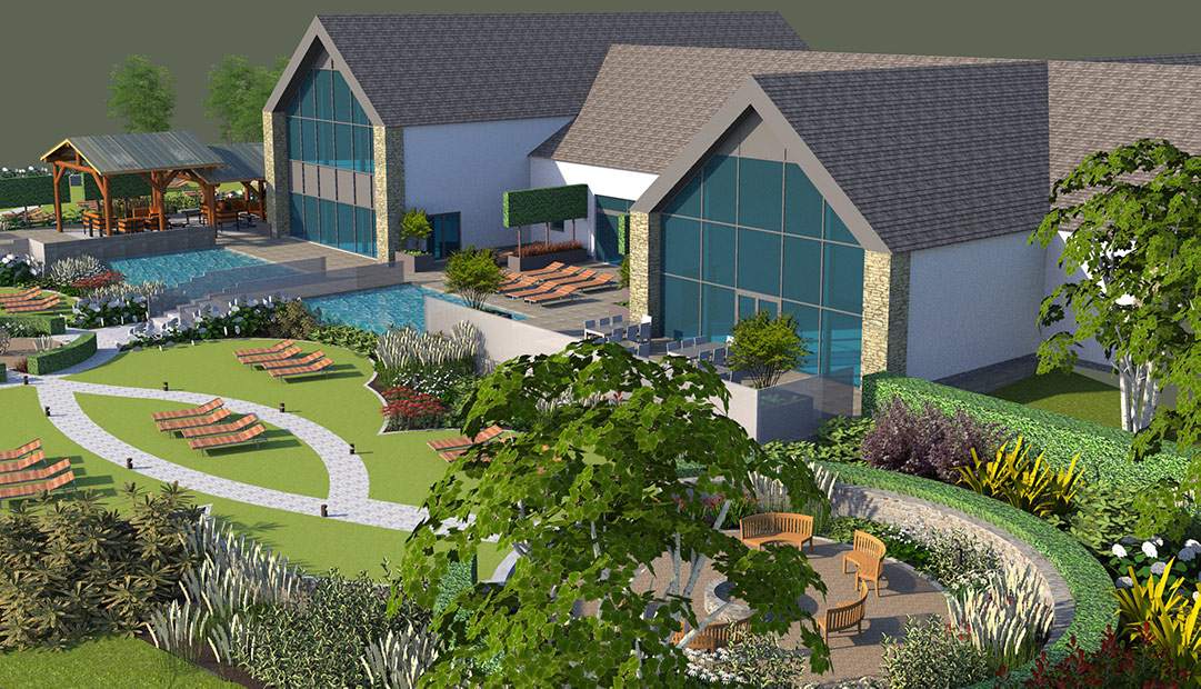 Work Starts on a Luxury Spa at Breedon Priory Health Club